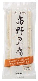 オーサワの高野豆腐 6枚(50g)×12個                     JAN:4932828016108