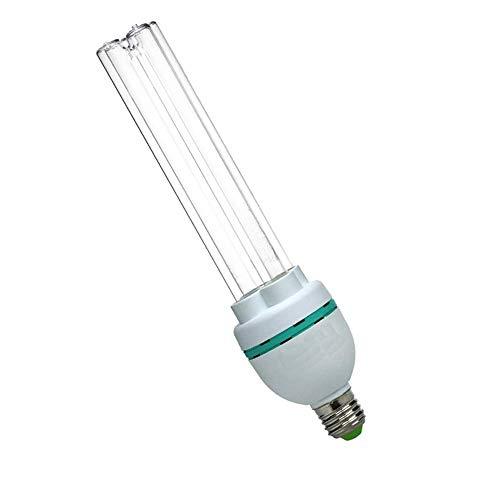 E27 Light Bulb 25W Easy Use UV Germicidal with Ozone Screw Socket Lamp 110V