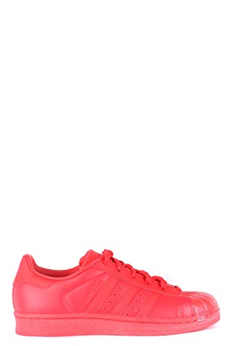 Luxury Fashion | Adidas Dames MCBI35330 Rood Leer Sneakers | Seizoen Outlet