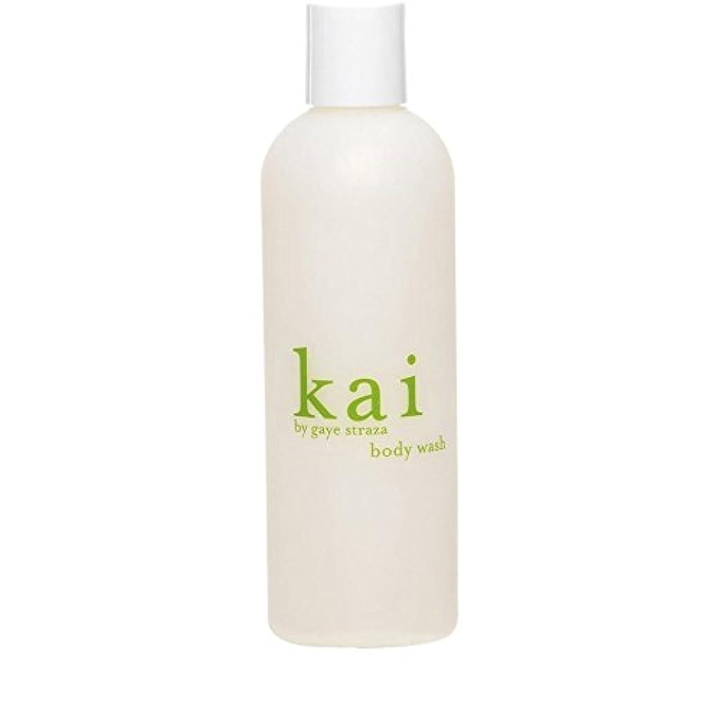 モジュールセミナー穏やかなKai by Gaye Straza Kai Body Wash 235ml (Pack of 6) - ゲイ?ストラザ会ボディウォッシュ235ミリリットルによって会 x6 [並行輸入品]