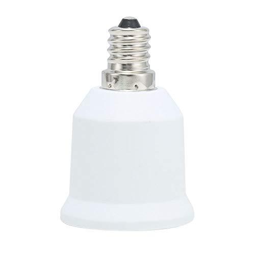 E12 Candelabra Converter to Standard E26 Bulb Base Adapter,E12 to E26 Adapter E12 Light Socket to Medium Base E26 Converter Light Socket Adapter Chandelier Socket E12 Light Bulb Adapter 2PACK