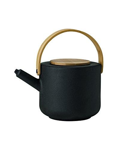 Stelton Theo, Teekanne aus Stein, schwarz, 1,25 l