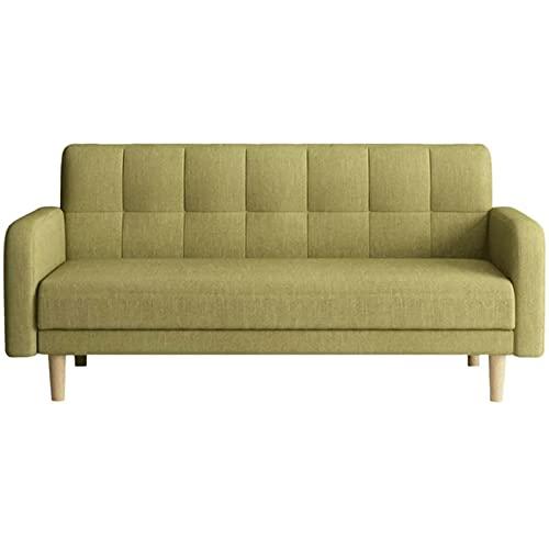 HUIXINLIANG Sofa Cama Sofá Cama de Tela, sofá Cama Plegable, sofá sofá Cama con 3 ángulos Ajustables y reposabrazos curvados, Adecuado para Dormitorio, Loft de Arriba, Oficina
