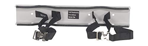 Vestil CB-W-2S Wall Mounted Bracket for 2 Cylinders, Steel