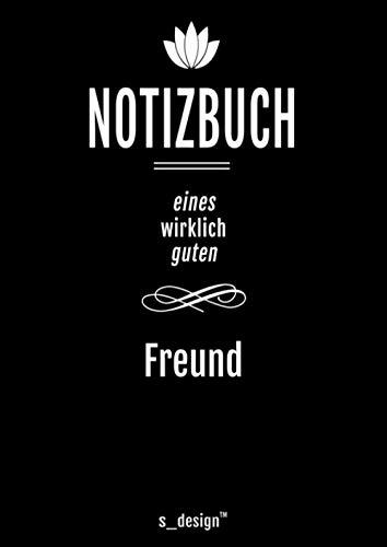 Notizbuch für Freunde / Freund / Bester Freund / Beste Freunde: Originelle Geschenk-Idee [120 Seiten kariertes DIN A4 blanko Papier]