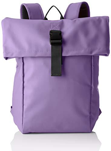 BREE Unisex-Erwachsene PNCH 93 backpack M Rucksack, Violett (Pat.Purple), 12x46x30 cm