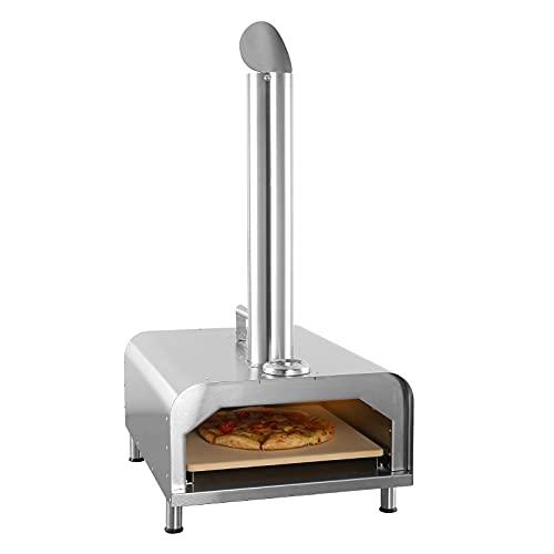 "GYBER Fremont Trunk-shape Portable Pizza Oven 12"" Outdoor Wood, Charcoal & Pellets Pizza Maker"