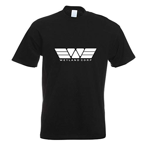 Weyland Corporation Predator T-Shirt Motiv Bedruckt Funshirt Design Print