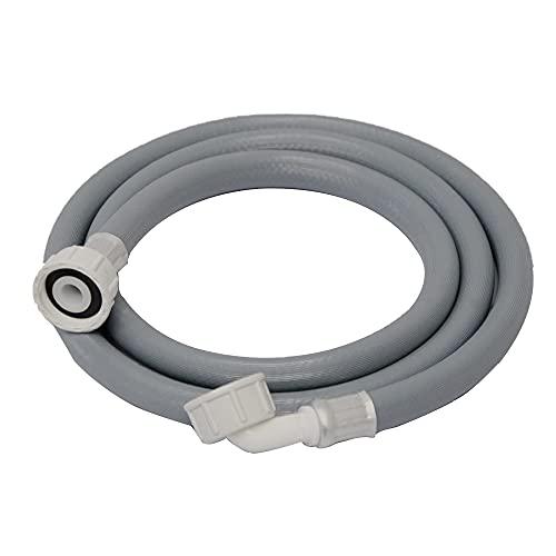 Tubo di Alimentazione per Lavatrice,Tubo Carico Lavatrice,Tubo per Lavastoviglie,Prolunga Tubo Carico Lavastoviglie,Tubo di Alimentazione Dell'Acqua(1.5M)