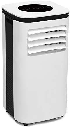 OZEANOS Klimaanlage Mobil - Mobiles Klimagerät mit 4in1 System: kühlen, heizen, entfeuchten, lüften - 9000 BTU/h (2.600 Watt) - Klima mit Montagematerial, Fernbedienung und Timer [Energieklasse A]