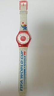腕時計 ウォッチ フランスWC記念品 98' 日本代表カラー レア アンティーク