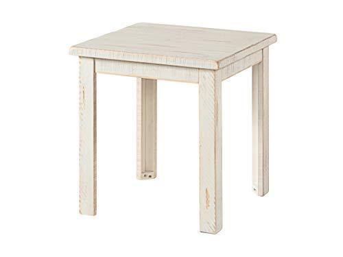 Martin Svensson Home Ventura, End Table, Antique White