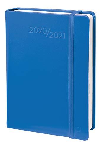 QUO VADIS 0291495Q DIARIO SCOLASTICO Anno 2020-2021 TEXTAGENDA lingua italiana Habana blu con elastico 12x17 Giornaliera 13 MESI AGOSTO-AGOSTO