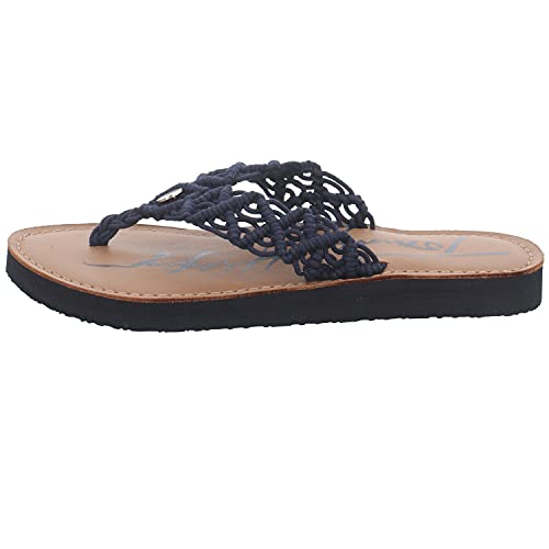Tommy Hilfiger TH Faded Leather Footbed Sandal, Sandalias Planas Mujer, Mónica 19d, 41 EU