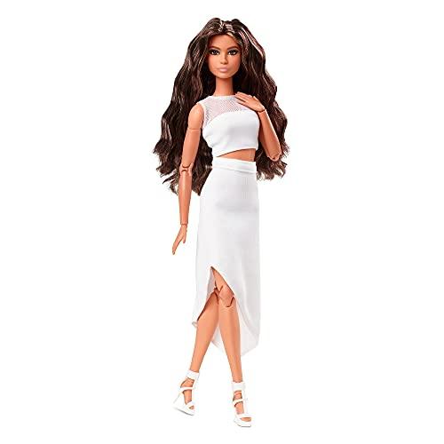 Barbie Movimiento sin límites original Muñeca pelo moreno con accesorios de moda...
