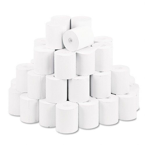 """NCR 856335 Thermal Receipt Paper, 3"""" x 230', White, 50 Rolls/Pk"""