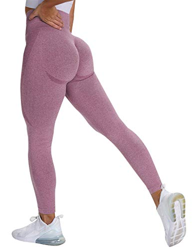 MANIFIQUE Women's High Waist Workout Gym Tummy Control Seamless Leggings