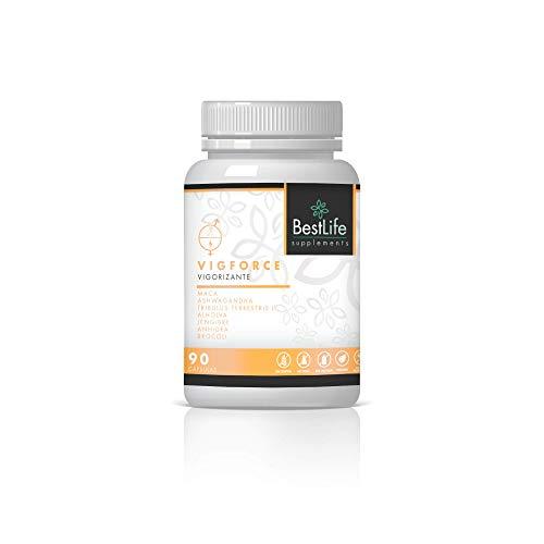 VIGFORCE | Vigorizante + Estimulante del Metabolismo | Booster de Testosterona Natural | Maca...