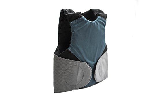 Marom Dolphin Ltd. Los niños Chaleco ocultable Bulletproof pequeño Nivel 3-a Color Azul (Disponibles tamaños: S-L) (L)