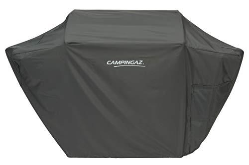 CAMPINGAZ Cover Funda Premium L, Impermeable, revestida con PU, Resistente a la Intemperie, Cordel de sujeción, para Barbacoa 3 Series, Protege del Sol, el Polvo y la Nieve, Black