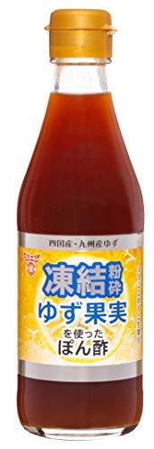 フンドーキン醤油 凍結粉砕ゆず果実を使ったぽん酢 300ml ×2本
