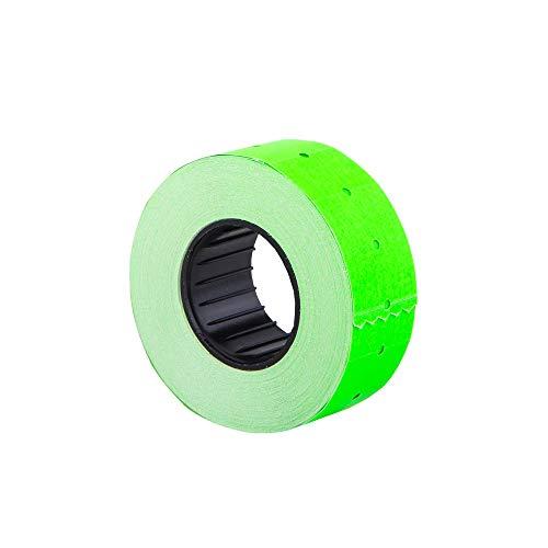 (10 rouleaux) vert 21 x 12 mm papier coloré autocollant prix pistolet étiquettes Pricemarker MX-5500