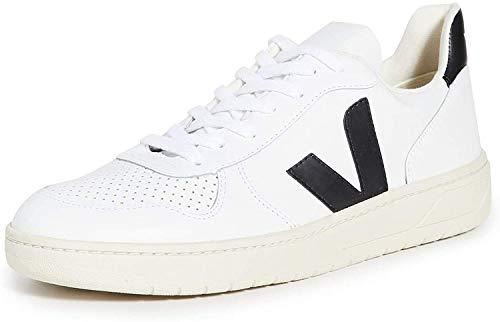Veja V10 Leather Hombre Zapatillas Blanco