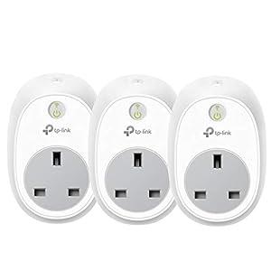 immagine di Kasa Smart Plug by TP-Link, presa WiFi, funziona con Amazon Alexa (Echo e Echo Dot) e Google Home, interruttore con telecomando senza fili, senza hub (HS100P3)
