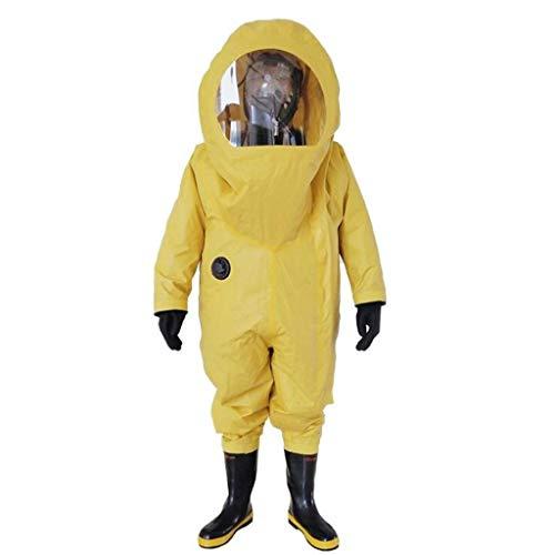 KLGW Allgemeine Sicherheitsmaßnahmen Hochleistungs-Chemikalienschutzkleidung, flammhemmende, säurebeständige und alkalibeständige Anti-Virus-Schutzanzüge