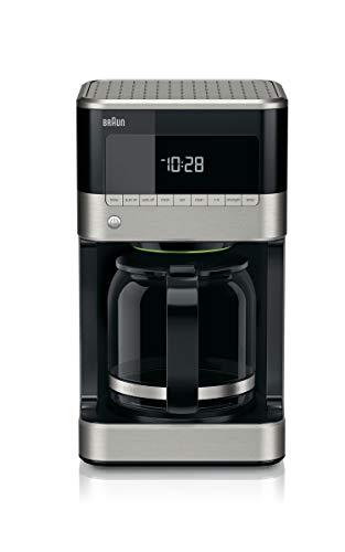 Braun KF7150BK Brew Sense Drip Coffee Maker, Black (Renewed)