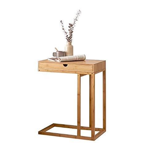 Desk Xiaolin Schubladen und Regale Couchtisch Speichereinheit Sofa-Beistelltisch Magazin Tisch Laptop-Tisch Holz