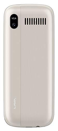 LAVA A7 Rose Gold (6+ Days Battery Backup)