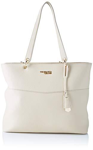 Trussardi Jeans Charlotte Shopper LG Tumbled E, Borsa a Spalla Donna, Rosa (Nude), 29x12x34 cm (W x H x L)
