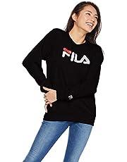 [フィラ] FILA フィラ Lady's デカロゴプリントトレーナー FL1441 トレーナー レディース