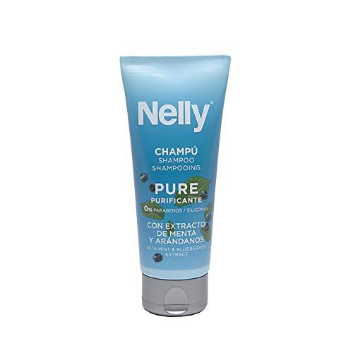 Nelly Champú Pure - 12 Recipientes de 100 ml - Total: 1200 ml