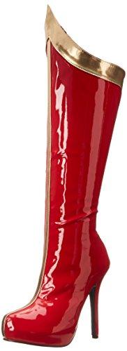 Ellie Shoes Bottes Comet pour Femme - Rouge - Rouge doré, 37 EU