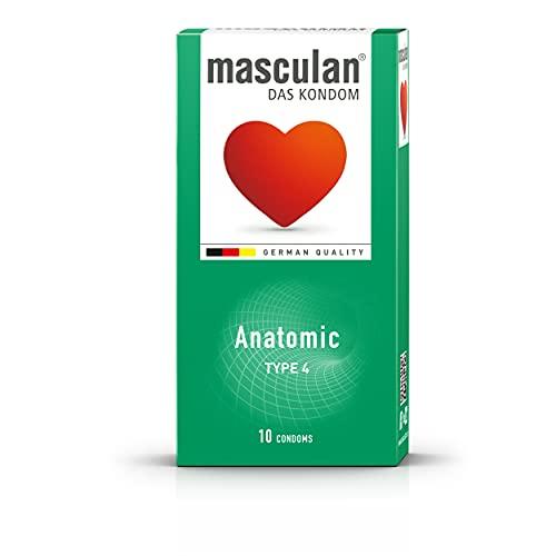 Masculan tipo 4(forma anatomica) 10tedesco preservativi