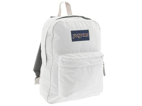 JanSport  SuperBreak (White) Backpack Bags