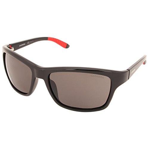 Carrera 8013/S M9 D28 Gafas de Sol, Negro (SHINY BLACK/GREY PZ), 58 Unisex-Adulto