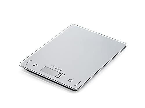 Soehnle Page Comfort 100 Báscula de Cocina Digital, Plata, 21 x 16 cm