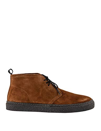 Fred Perry Men's Hawley Suede Chukka Boots Brown in Size 41