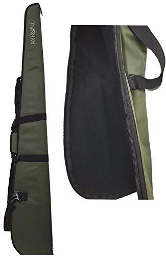 Fodero in cordura imbottito Colore verde Lunghezza 130cm Trasportabile con maniglia a mano oppure con tracolla