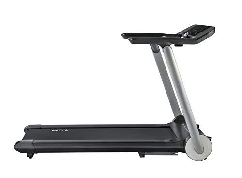 VOLAVA Smart Run Cinta de Correr. Compacta y Plegable. De 1 a 20km/h. Superficie de 45x130cm. Uso doméstico. 10 programas Entrenamiento. Clases de Running virtuales bajo suscripción.