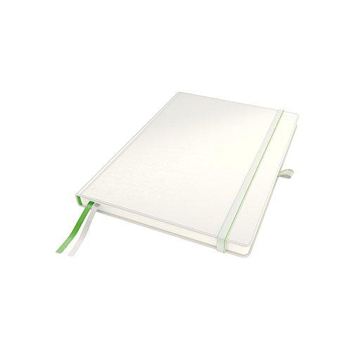 Leitz 44710001 Complete Notizbuch, A4, kariert, weiß