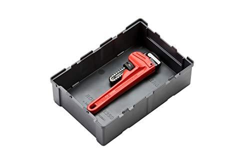 Rothenberger 1000002194 Heavy Duty 6 Einhand-Rohrzange mit auswechselbaren Verschleißteilen für Stahlroher bis Durchmesser 3/4 Zoll, Rot