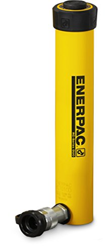 Enerpac RC-1010 Single-Acting Alloy Steel Hydraulic Cylinder with 10 Ton Capacity, Single Port, 10.13