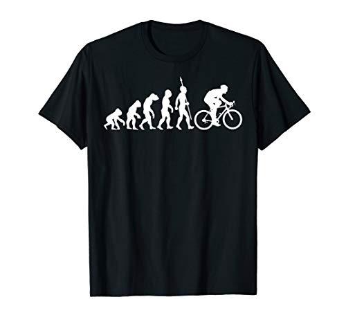Fahrrad Evolution Radsport Biker Radfahrer Radfahren T-Shirt