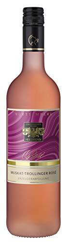 Württemberger Wein Heilbronner Muskat-Trollinger rosé QW lieblich (1 x 0.75 l)