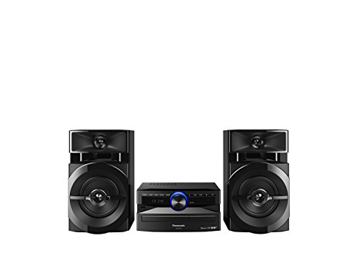 Panasonic SC-UX104EG-K CD-Micro-Musik (Bluetooth,  Tuner (DAB+/FM), USB, AUX-IN, DJ Jukebox, 300 Watt RMS) schwarz