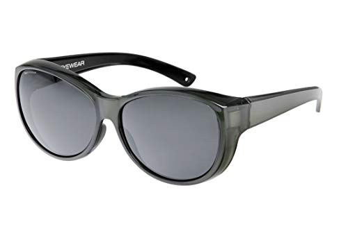 IKY Eyewear overzet zonnebril OB-0002C grijs bright